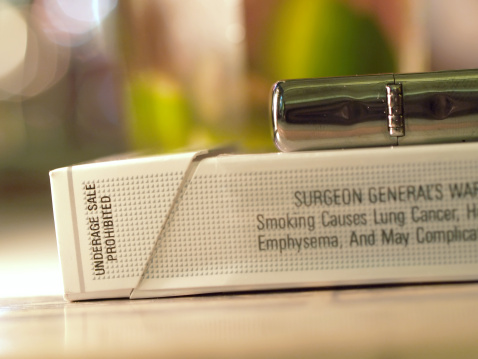 Graphic images on cigarette packs prompt smokers to quit