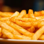 Heavy industry chemical found in french fries