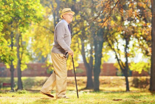 Slow walking early sign of Alzheimer's disease