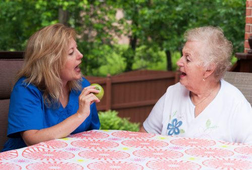 Aphasia, post-stroke loss of speech, can be compensated by right side of the brain