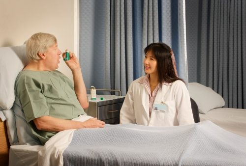 Dyspnea (shortness of breath) in asthma, COPD is important for diagnosis