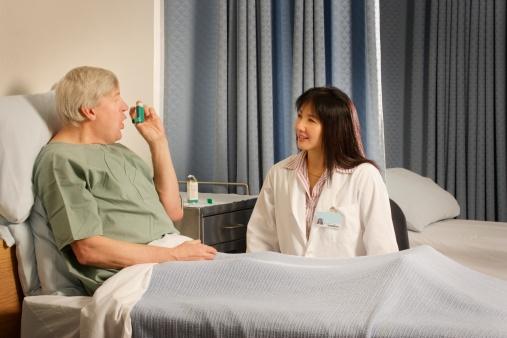 Dyspnea (shortness of breath) in asthma, COPD is important ...