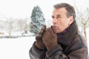 Hypothermia and frostbite are winter health risks for seniors