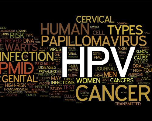 Human papillomavirus (HPV) infection, transmission can increase skin, mouth, and throat cancer risk