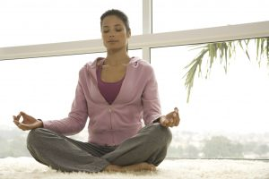 Irritable bowel syndrome symptoms in women eased by mindful meditation