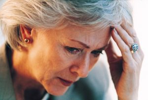 Migraine headaches with auras may double the risk of stroke