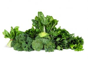 Risk of glaucoma reduced by eating green, leafy vegetables