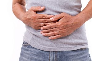 Peritonitis (inflammation of the peritoneum) caused by a bacterial or fungal infection