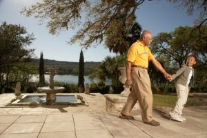 Sudden blood pressure loss related falls, injury risk lowered by short walks after meals