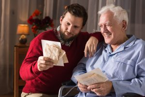 seniors with signs of memory loss, dementia