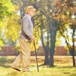 Walking after meals to lower risk of falls caused by a sudden loss in blood pressure