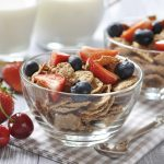 Breast cancer risk in young women reduced with high fiber diet