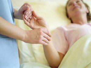 Meditation breast cancer biopsy pain