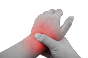 arthritis pain predicted by knowing joint pain and diabetes status