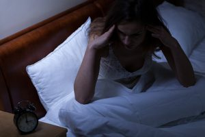 Cholesterol levels and poor sleep