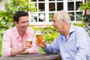 Heart risk temporarily boosts after one alcoholic beverage