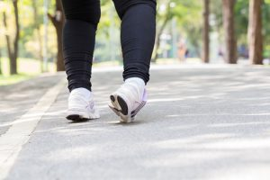 Sprained ankle risk may be influenced by foot positioning during walking, running