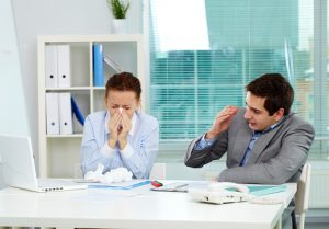 Employees Sick in office
