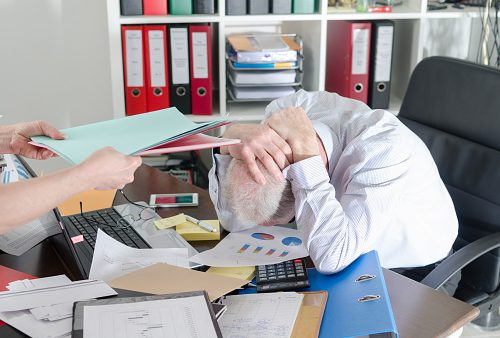 Heart disease and stroke risk dictated by profession in older workers