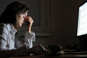 heart disease risk higher with long hours spent at the office