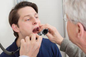 Obstructive sleep apnea tonsillitis