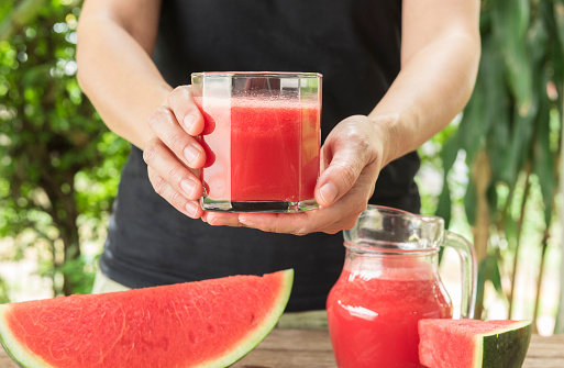 Watermelon juice can relieve sore muscles after exercise