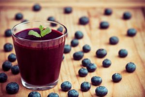 health benefits of drinking blueberry juice