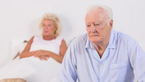 Dementia in seniors linked to severe depression