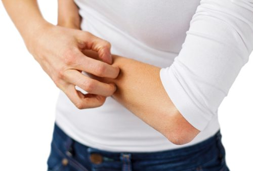 Fibromyalgia skin disorders itching rash
