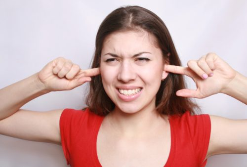 Hearing loss caused by prolonged exposure to loud noises