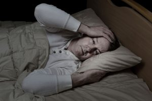 Sleep hyperhidrosis night sweats