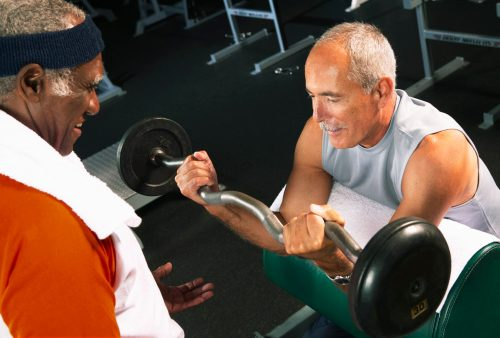 Strength training for older adults promotes longevity