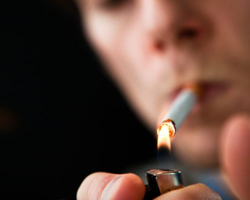 COPD symptoms seen in smokers even without diagnosis