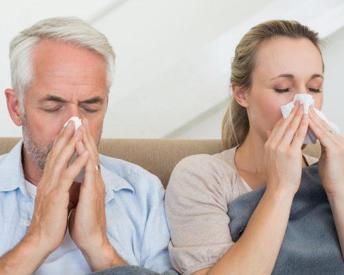 influenza flu vs pneumonia