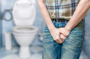 In multiple sclerosis, urinary tract infection symptoms seen