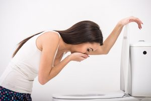 nausea after eating