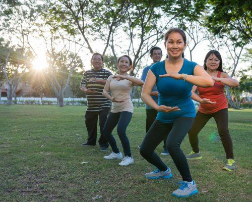 Tai chi relieves knee pain