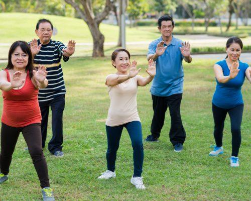 Tai chi benefits knee osteoarthritis