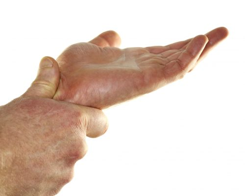 Tendinitis in wrists