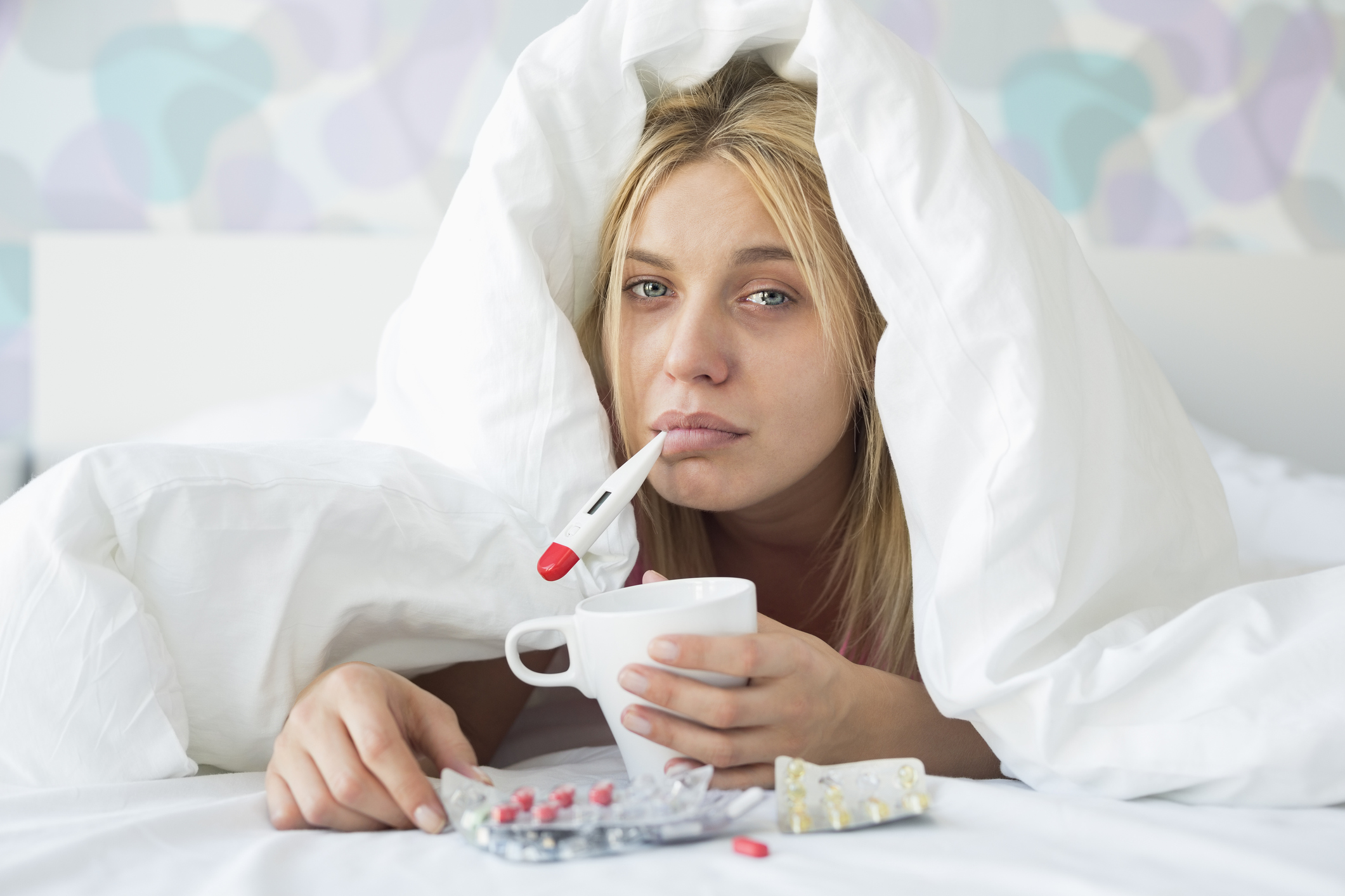 Common cold vs flu influenza