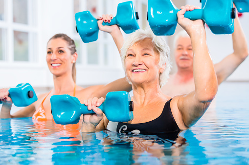 Fibromyalgia women benefit from aquatic aerobic exercise