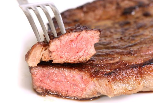 Kidneys damaged by excess red meat intake