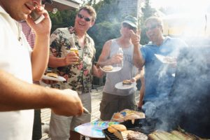 Summer protection tips for cooking on fire and preventing sunburns