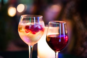 cholesterol levels and alcohol