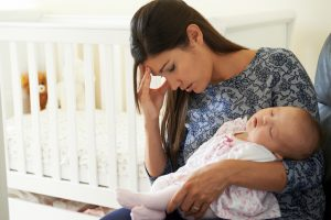 postpartum depression in women with urinary incontinence