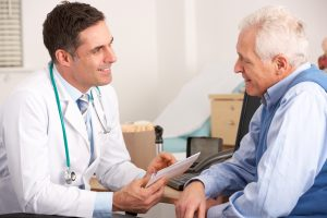 doctor prostate cancer screening