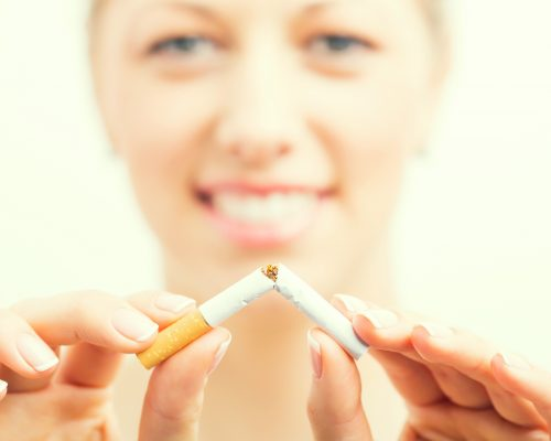 Smoking cessation may help you make friends
