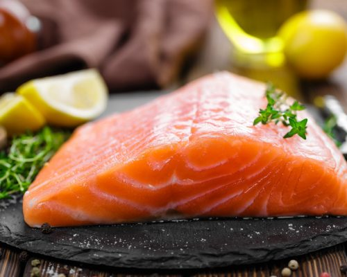 healthy foods salmon fish