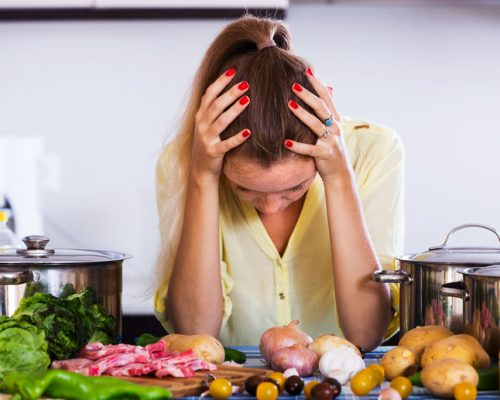 Benefits of a healthy diet may be negated by stress in women