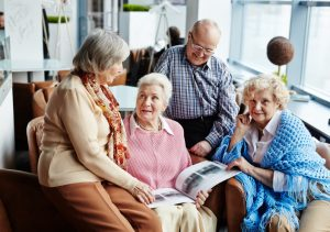 hearing problems and visual impairment in seniors reduce social activity engagmement